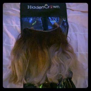 Ombré balayage human hair from hidden crown